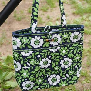 VGUC Vera Bradley Toggle Tote in Lucky You